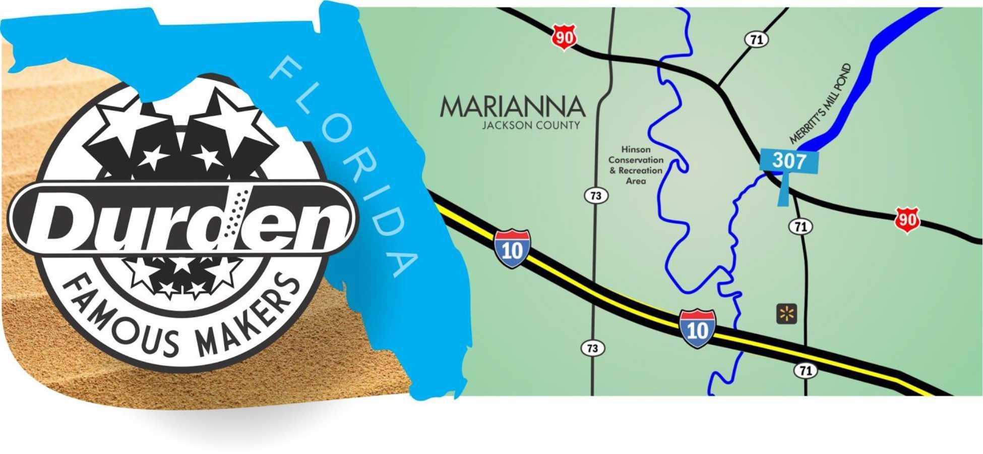 Marianna Florida Map.Durden Outdoor Displays Durden Outdoor Expands Digital Static