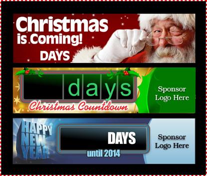 Durden-Holiday Countdowns