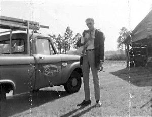 Earl Durden and the first Durden truck