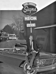 Original Durden shop in 1968